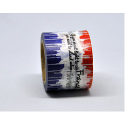 Washi tape – Francia minta (35 mm, 10 m)