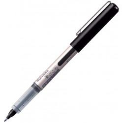 Kuretake Fudegokochi ecsettoll (LS1-10S), kemény hegyű szépíró toll, fekete tinta, közepes vastagság