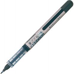 Kuretake Fudegokochi ecsettoll (LS5-10S), kemény hegyű szépíró toll, szürke tinta, közepes vastagság