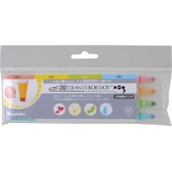 Kuretake ZIG Clean Color DOT, 4 színű készlet (TC-6100/4V)
