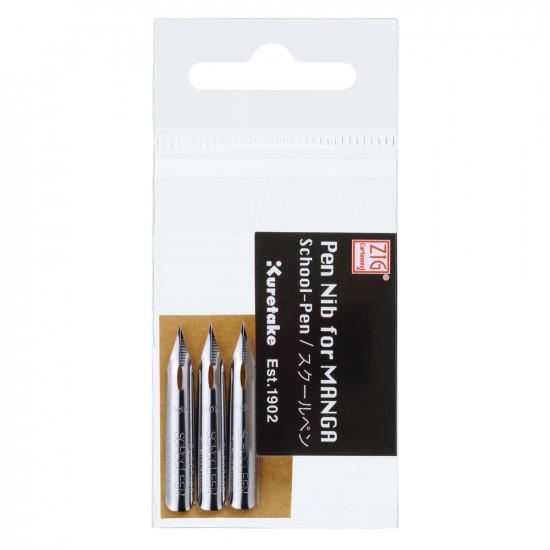 ZIG MANGAKA School-pen tollhegy, 3 db/csomag (CNPN-01S)