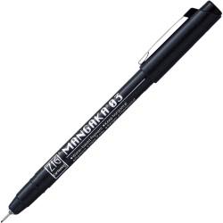 ZIG Mangaka 0.3mm tűfilc, fekete (CNM-03)